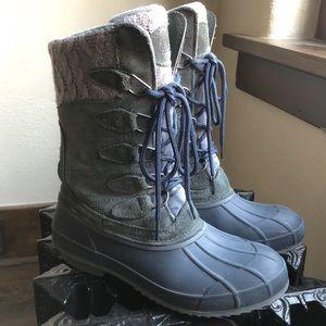 Khombu | Waterproof Cozy Pac Sweater Duck Boots